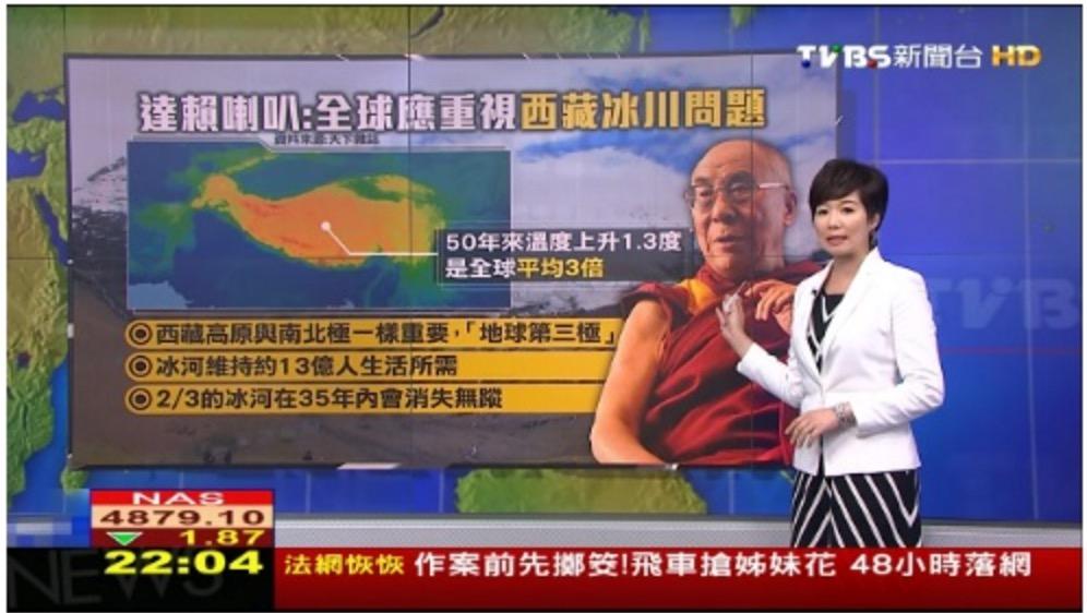達賴喇嘛「全球應重視西藏冰川問題」