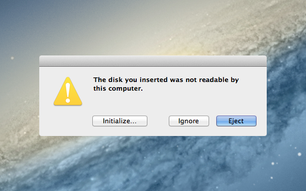 disk-unreadable